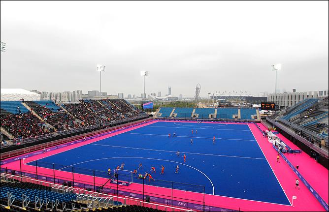 Олимпийский хоккейный центр