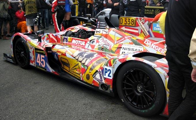 Отличная раскраска от OAK Racing