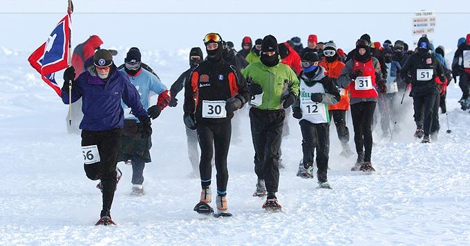 Цена участия в North Pole Marathon высока, но и ощущения незабываемы