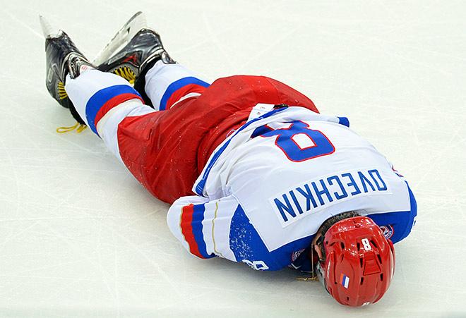 Александр Овечкин получил травму и может пропустить оставшиеся матчи чемпионата мира