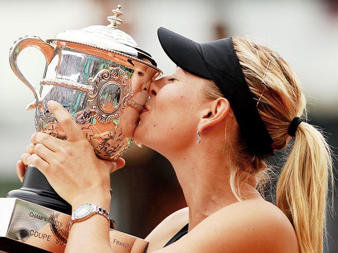 2012. Roland Garros. Мария Шарапова — Сара Эррани — 6:3, 6:2
