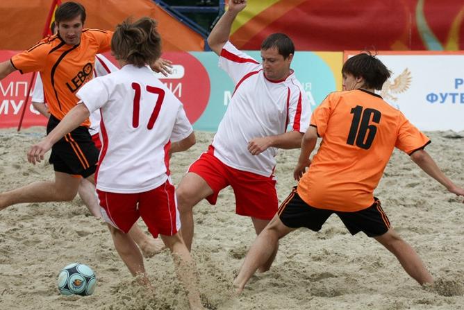 Открытый Кубок Москвы по пляжному футболу