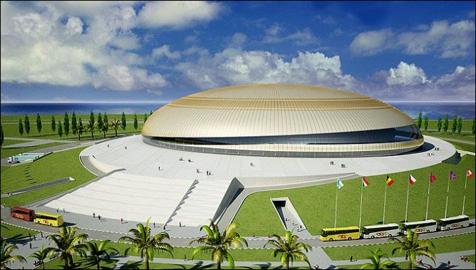 На домашней Олимпиаде станем играть на чужих широких площадках?