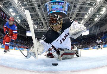11 февраля 2014 года. Сочи. XXII Зимние Олимпийские игры. Хоккей. Женщины. Групповой этап. Россия — Япония — 2:1. Вратарь Фудзимото творила чудеса