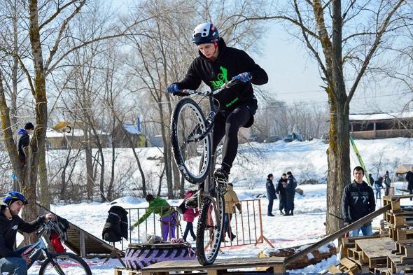 Соревнования по велотриалу — Trial park