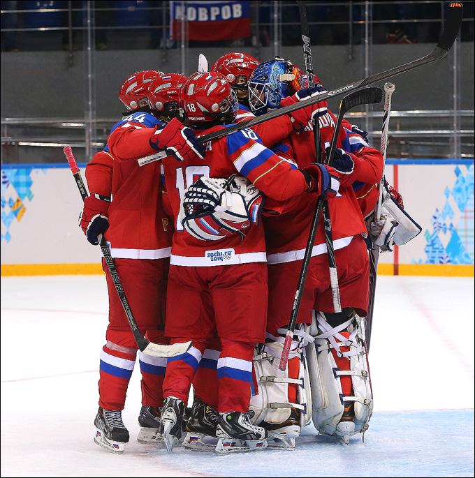 13 февраля 2014 года. Сочи. XXII зимние Олимпийские игры. Хоккей. Женщины. Групповой этап. Швеция — Россия — 1:3