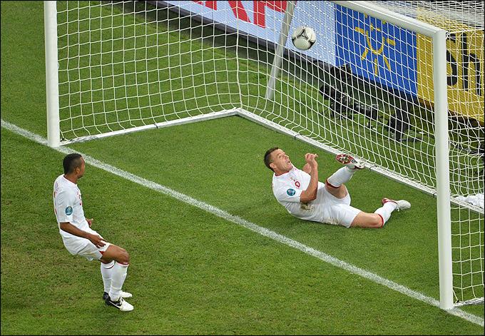 Незасчитанный гол сборной Украины