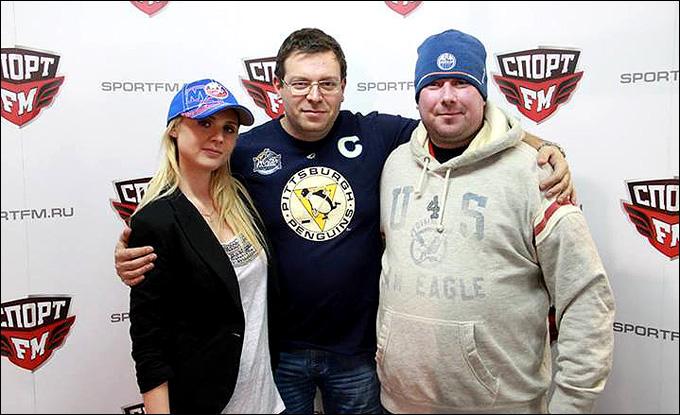 Дарья Миронова, Александр Кузмак и Владимир Дехтярёв — наша хоккейная сила