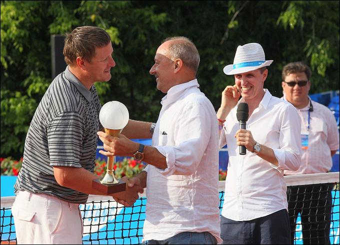 Российские легенды вновь выиграли домашний турнир