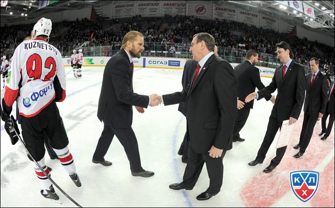 Петри Матикайнен и Валерий Белоусов