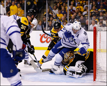 """13 мая 2013 года. Бостон. Плей-офф НХЛ. 1/8 финала. Матч № 7. """"Бостон"""" — """"Торонто"""" — 5:4 (ОТ)"""