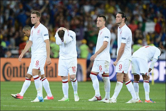 Англия проиграла в серии пенальти