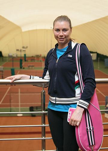 Вера Звонарёва протестировала новую технологию в теннисных ракетках