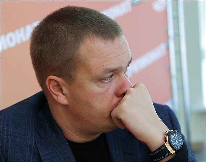 Ватутин: я максималист в жизни, и все задачи, какие я ставил, максимальны, но это не значит, что все должны быть такие, как Андрей Ватутин