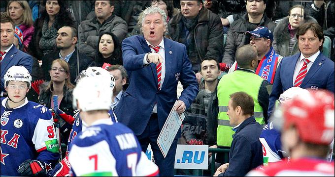 Главный тренер СКА Милош Ржига — идёт дальше