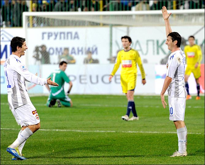 Евгений Алдонин и Алан Дзагоев