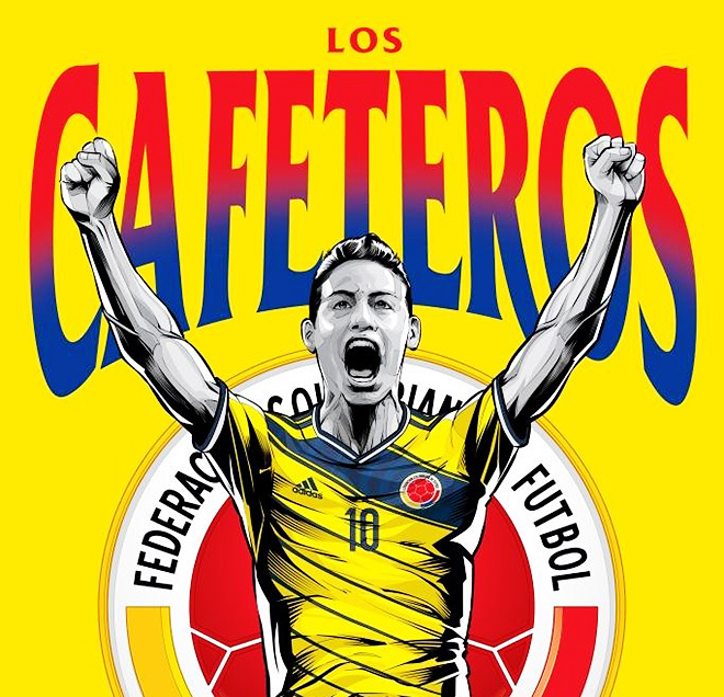 Сборная Колумбии — «Кофейщики»