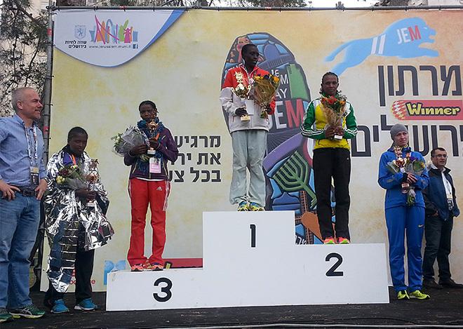 Лучше Карманенко в Иерусалиме оказались только две кенийки и эфиопка
