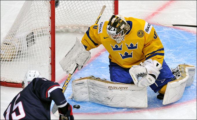 5 января 2013 года. Уфа. Молодежный чемпионат мира. Финал. Швеция — США — 1:3
