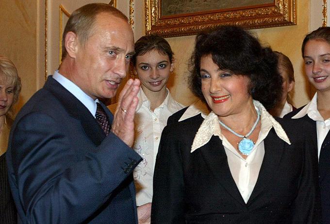 Лондон-2012. Художественная гимнастика. Ирина Винер и Владимир Путин