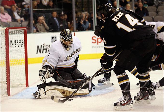"8 февраля 2013 года. Даллас. Регулярный чемпионат НХЛ. ""Даллас Старз"" — ""Анахайм Дакс"" — 3:1"