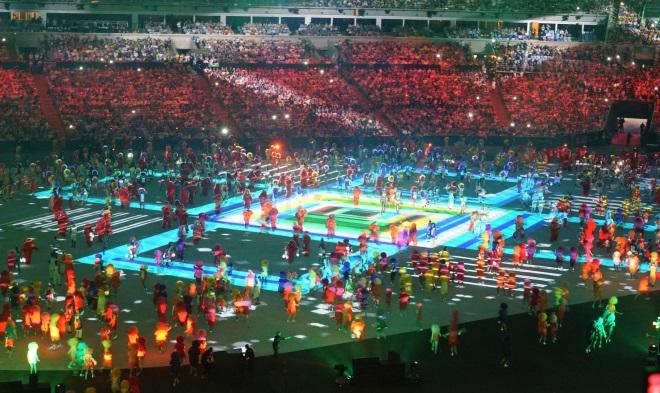 Найкрутіші фотографії з церемонії відкриття Олімпіади-2016 - фото 10