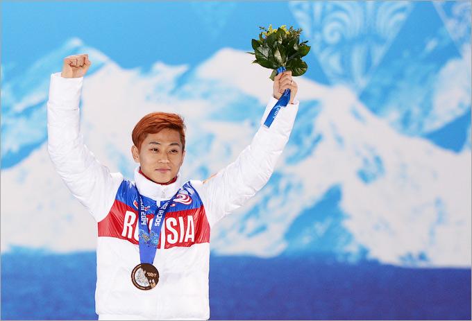 Виктор Ан принёс первую медаль своей новой стране