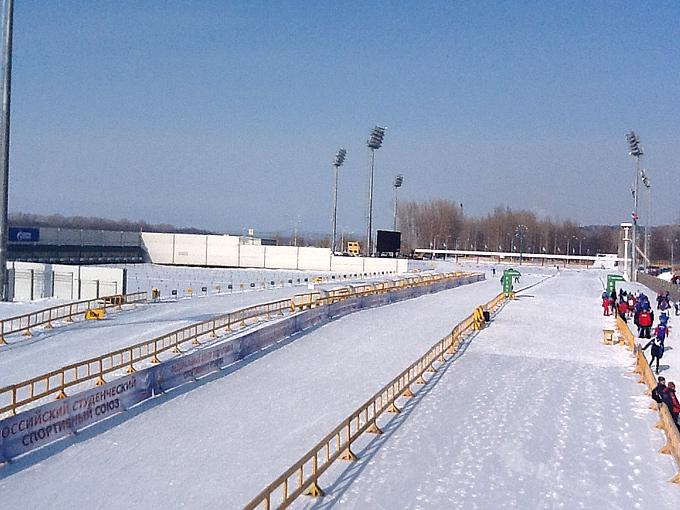 Биатлонный стадион