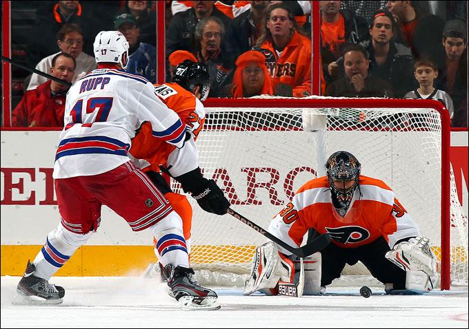 """24 января 2013 года. Филадельфия. Регулярный чемпионат НХЛ. """"Филадельфия Флайерз"""" – """"Нью-Йорк Рейнджерс"""" — 2:1"""