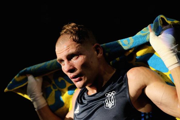 Член сборной Украины по боксу Денис Беринчик