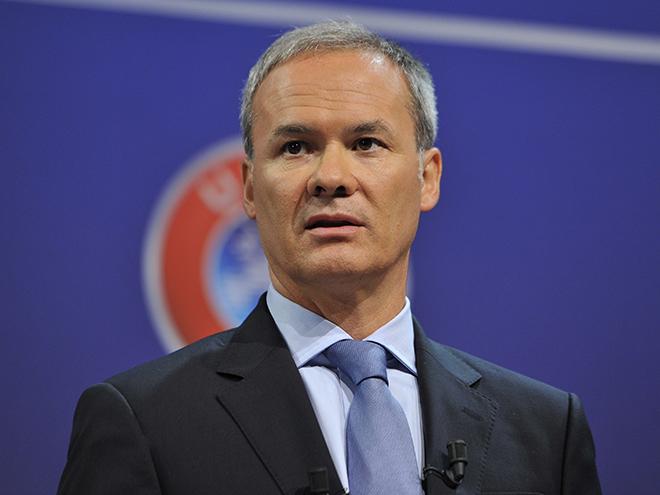 Директор УЕФА по соревнованиям Джорджио Маркетти