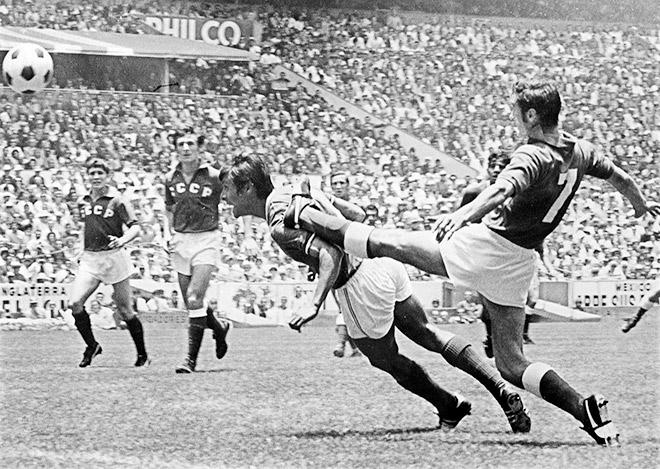 ЧМ-1970. СССР — Мексика — 0:0. Сборная СССР не справилась с хозяевами турнира