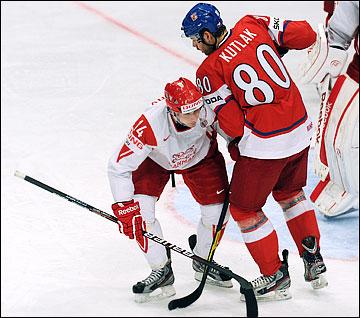 Кирилл Старков против сборной Чехии