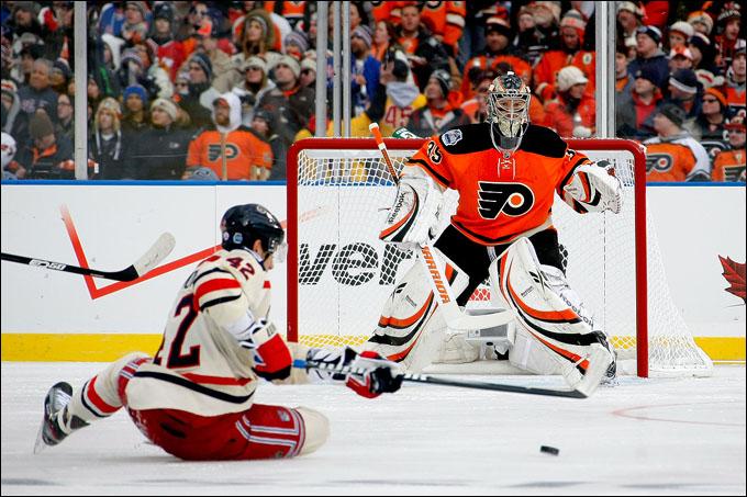 """2 января 2011 года. Филадельфия. Зимняя классика НХЛ. """"Филадельфия Флайерз"""" — """"Нью-Йорк Рейнджерс"""" — 2:3"""