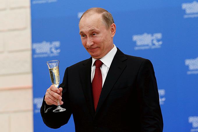 Президент России Владимир Путин на встрече с президентами национальных паралимпийских комитетов