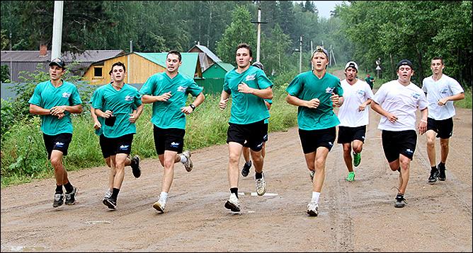"""Первый учебно-тренировочный сбор уфимского """"Толпара"""""""