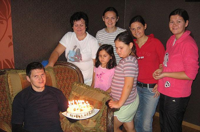 Семья Тараса Михалика