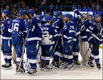 "Итоги сезона НХЛ. ""Тампа-Бэй Лайтнинг"""