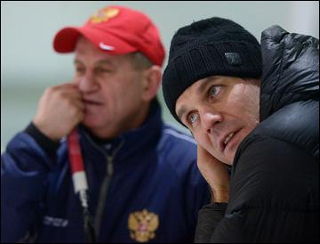 Михаил Чеканов и Алексей Яшин