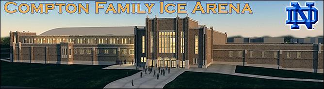 Такой будет снаружи новая арена университета Нотр-Дам