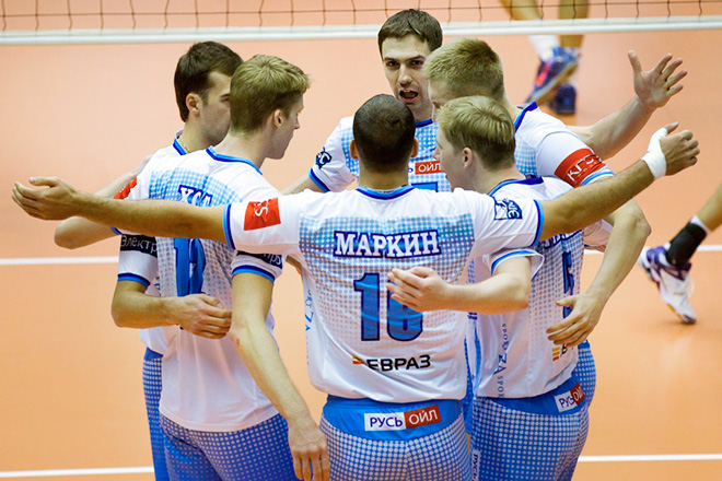Московское «Динамо» — пока главный конкурент «Белогорья»