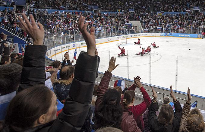 Сборная России по следж-хоккею только что обыграла Норвегию и вышла в финал паралимпийского турнира