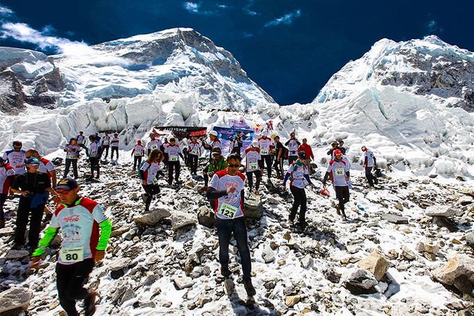 У Марафона Эверест самый специфический рельеф