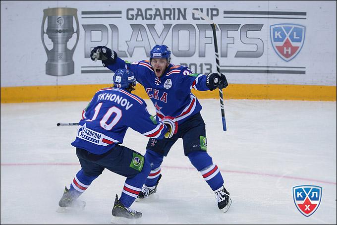 Михаил Варнаков в составе СКА