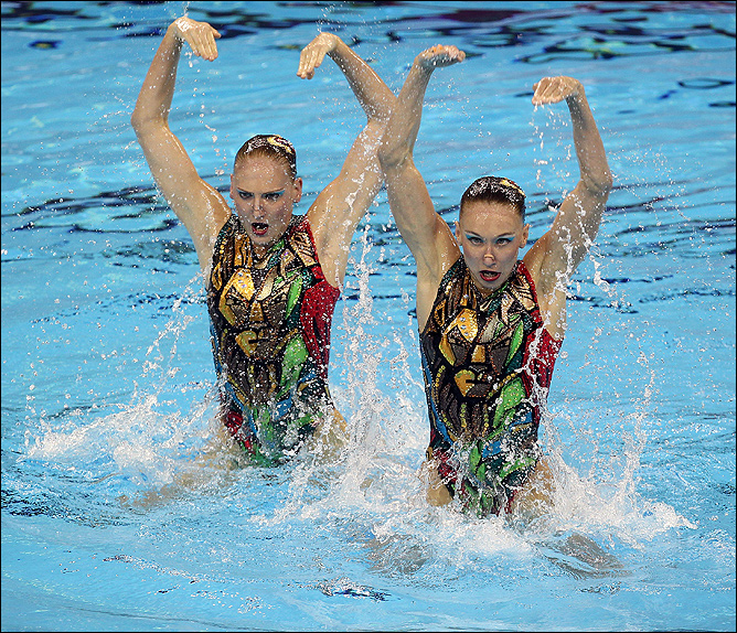 Превосходство отечественной школы синхронного плавания ни у кого сомнений не вызывает