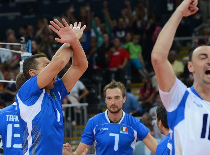 Итальянские волейболисты