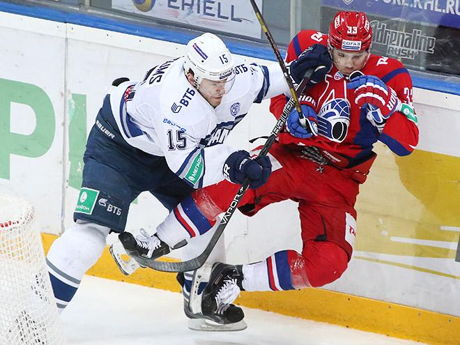 «Динамо» сразится с «Локомотивом» в первом раунде плей-офф КХЛ