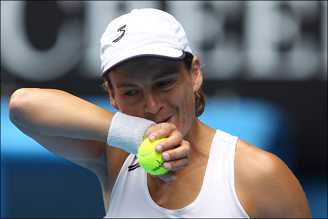 Баммер попрощалась с теннисом