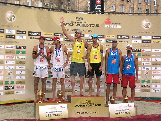 Московский этап Мировой лиги по пляжному волейболу