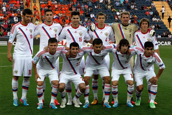 Молодёжная сборная России на чемпионате Европы